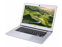 "ACER CB3-431 14"" Full HD Chromebook - Silver"