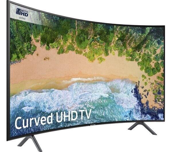 Samsung 49 Inch 4K Ultra HD Curved SMART Slim LED TV