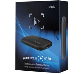 Elgato Game Capture HD60 Record/Stream Xbox One/PS4/Xbox 360 BRAND NEW