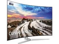 "samsung 65"" ue65mu9000 Curved 9 series smart Wi-Fi New tv comes with warranty and 2 × remotes ."