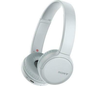 Sony WHCH510W Wireless Bluetooth On-Ear Headphones with Microphone White