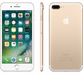 APPLE IPHONE 7 PLUS 128GB UNLOCKED BRAND NEW COMES WITH APPLE WARRANTY AND SHOP RECEIPT