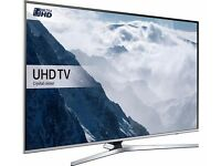 SAMSUNG 49 Inch Smart 4k Ultra HD HDR LED TV, With 2 remotes New Model KU series