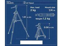 Tripod ** Velbon EF-51 *** LIKE NEW ***