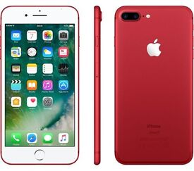 IPHONE 7 PLUS RED NEW 128GB *Faulty for parts*