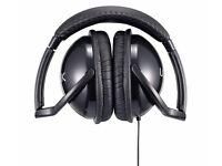 New LOGIK LHHIFI10 Headphones Black