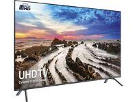 65'' SAMSUNG SMART 4K HDR DYNAMIC SMART LED TV.UE65MU7070.FREESAT HD.FREE DELIVERY/SETUP