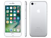 Apple Iphone 7 128gb 1 year Apple warranty locked on three £499.00 used for less than a week