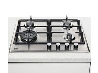 BEKO HCMW64225SX Gas Hob - Stainless Steel. Brand new with packaging