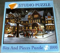 1000 pc. jigsaw puzzle The Carolers by H. Hargrove