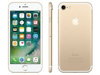 iPhone 7 128g gold excellent condition