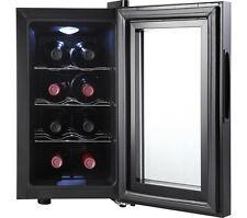ESSENTIALS CWC8B15 Wine Cooler - Black