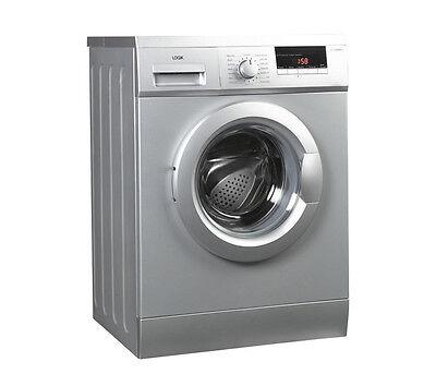 LOGIK L712WMS13 Washing Machine 7kg 1200rpm A+ Energy Rating 16 Programs Silver