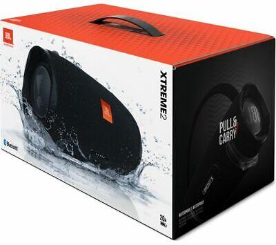 New JBL Xtreme 2 Portable Bluetooth Wireless Waterproof Speaker - (Black)