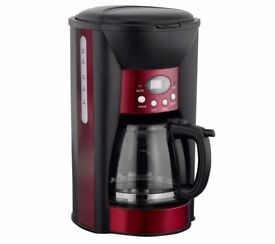 LOGIK LC10DCR12 Coffee Maker – Red