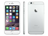 iPhone 6 16gb Silver Unlocked