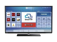 """48"""" TOSHIBA LED TV FULL HD BUILT IN FREEVIEW"""