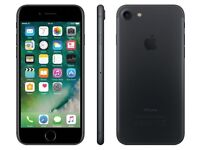 Apple iPhone 7 Matte black unlocked