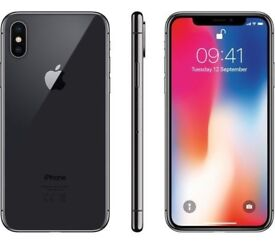 iPhone X ( 10) Space Grey 256 GB unlocked direct fromApple
