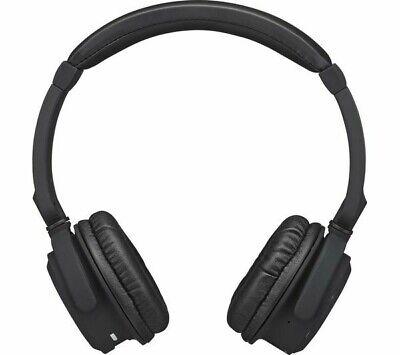 GOJI - Lites Wireless Bluetooth On-Ear Headphones - BLACK NEW