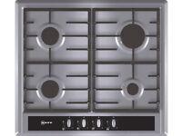 BRANDNEW NEFF T23S36N0GB 4 Burner 60cm Gas Hob - Stainless Steel