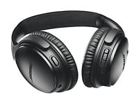 Sealed New Bose QuietComfort QC35 II (Mark 2) Wireless Headphones - Black 2 year warranty