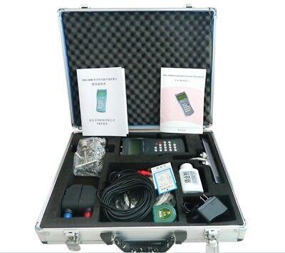 Ultrasonic Liquid Flowmeter Handheld Flow Meter Tds-100h Dn50-700mm Transducer