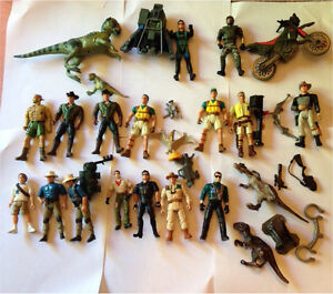 Jurassic park vintage figure dinosaur vehicle lot