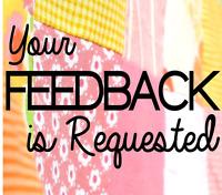 Looking for feedback