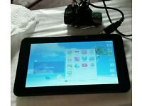 "Proscan 7"" android tablet 4gb 4.4.2 wifi front cam"
