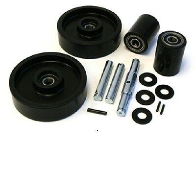 Jet W Pallet Jack Complete Wheel Kit Includes All Parts Shown