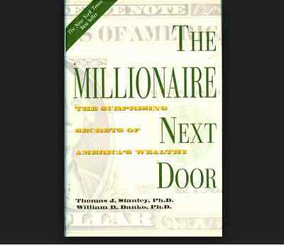The Millionaire Next Door William D Danko Thomas J Stanley Free Ship Paperback