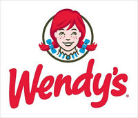 Wendy's Food Service Supervisor $14/hr