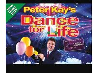 Peter Kay Dance for life ticket Nottingham