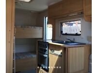 Lunar Zenith Sport 4 berth Caravan with fixed bunks