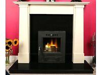 fireplace - Marble Cruz