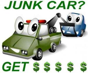 RECYCLE YOUR SCRAP CAR AND WE GIVE THE MOST MONEY! FREE TOWING!