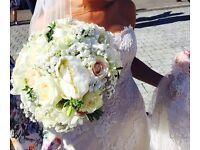 Pronovias size 8 wedding dress