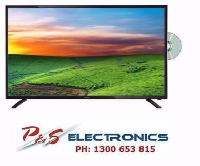 "BRAND NEW TEAC 32"" 8 1CM LCD LED HD TV DVD COMBO- LEV32GD3HD"