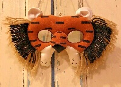 Halloween Face Masks For Kids (Halloween Masquerade Child's Lion Face Mask for Eyes)