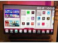 LG 55 inch smart led supper slim line HD tv