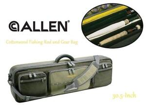 NEW Allen Company Cottonwood Fishing Rod and Gear Bag, 30.5-Inch Condtion: New