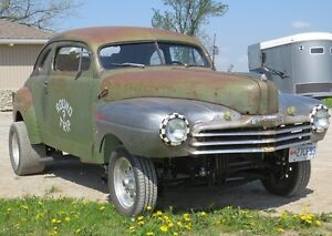 1947 Monarch rat rod/gasser