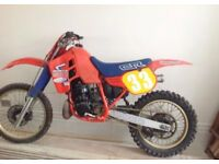 Honda CR 500 Motocross Bike