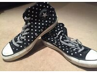 All Star Converse Suede high top sneakers
