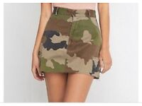 Urban outfitters camouflage skirt