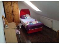 Spacious clean light safe loft room Prefer Female)