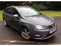 2015 SEAT IBIZA FR1.2 TFSI AUTOMATIC ESTATE, 31000 MILES FROM NEW
