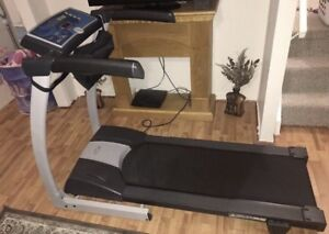 Fitness club treadmill