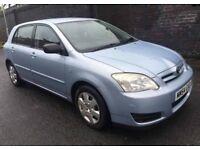 Toyota Corolla 54reg £895